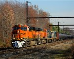 BNSF 6761 leading K138